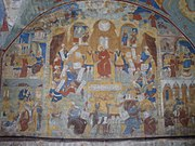 St John the Baptist church frescoes