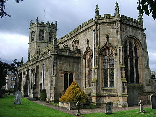 St Margarets Church, Hornby Church in Lancashire, England