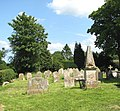 St Margaret's church - churchyard - geograph.org.uk - 1357054.jpg