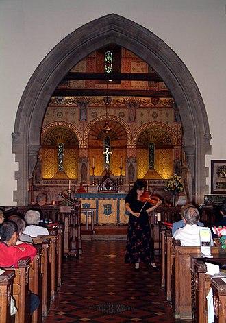 St Mary's Church, Addington - Image: St Mary's, Addington Village, CR0 geograph.org.uk 55142