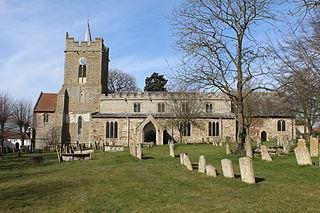 Lakenheath village in the United Kingdom