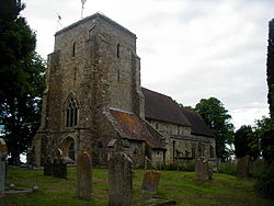 St Nicholas Church, Sandhurst - geograph.org.uk - 85437.jpg