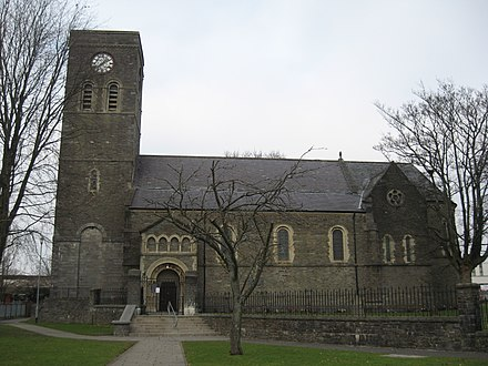 St Tydfil's Church St Tydfil's Church, Merthyr Tydfil.jpg