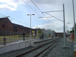 St Werburghs Road tram stop