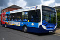Stagecoach in South Shields bus 27740 (NK11 BGY) 2011 Alexander Dennis Enviro300 integral, 2012 Teeside Running Day (1).jpg