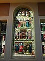 Stained glass memorial window, Plymouth Library, Drake Circus - geograph.org.uk - 1905500.jpg