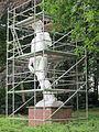 Standbeeld David in Den Brandt tijdens restauratie.JPG