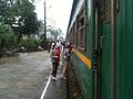 Standing by the train, Quang Ngai.JPG