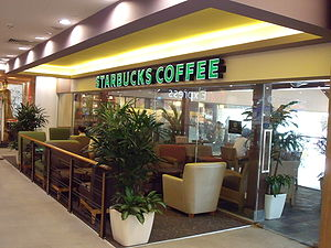 Starbucks at West Coast Plaza, Singapore