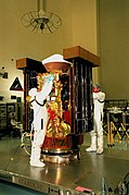 Stardust being checked before encapsulation