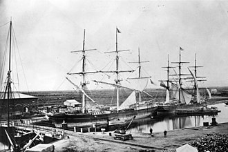 Devitt and Moore - Image: State Lib Qld 1 110056 Pekina (Ship), 1869