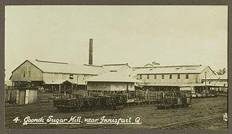 Goondi, Queensland - Goondi Sugar Mill, 1930