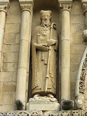 Gundulf of Rochester - Image: Statue Gondulf de Rochester