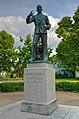 Statue of Floyd B. Olson, North Minneapolis 2017-08-02 - 3.jpg