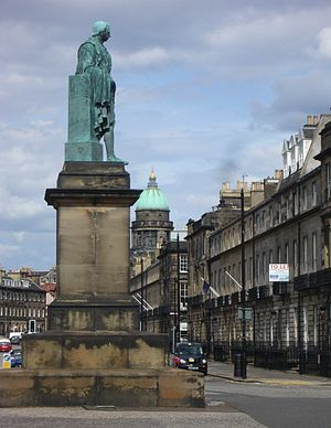 Robert Dundas, 2nd Viscount Melville - Statue in Melville Street, Edinburgh