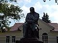 Statue of Taras Shevchenko in Shevchenkove, Shevchenkove Raion 2019 by Venzz 02.jpg