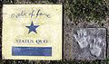Status Quo auf dem Walk of fame im Kurpark von Bad Krozingen.jpg