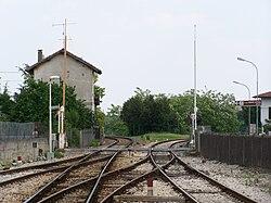 Stazione di Bornato Calino bivio paderno rovato 2008.jpg