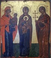 Ste Anne with the Virgin, the Virgin with Christ and St Thekla.tif