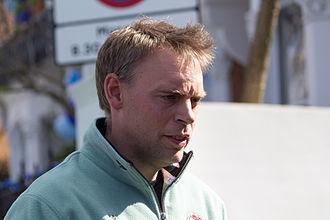 The Boat Races 2015 - Cambridge men's coach Steve Trapmore