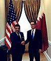 Steven Mnuchin and Qatari AG Al Marri at US Treasury.jpg