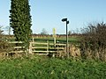 Stile on Footpath leading to Kibworth Beauchamp - geograph.org.uk - 302217.jpg