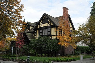 Joshua Green (businessman) - The Stimson-Green Mansion, Joshua Green's home from 1914 until the end of his life.
