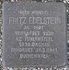Stolperstein für Fritz Edelstein