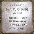 Stolperstein Holzhausenstrasse 16 Magda Spiegel.jpg