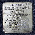 Stolperstein Johannisberger Str 3 (Wilmd) Liselotte Hanna Chotzen.jpg