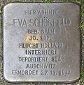 Stumbling block for Eva Schönfeld (Weyerstraße 89)