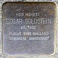 Stolpersteine Krefeld, Edgar Goldstein (Bogenstraße 73).jpg
