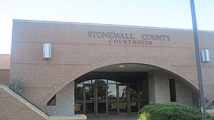 Aspermont, Texas - Image: Stonewall County, TX, Courthouse IMG 6233