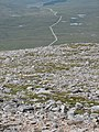 Stoney ground on Meall a' Chrasgaidh - geograph.org.uk - 908089.jpg