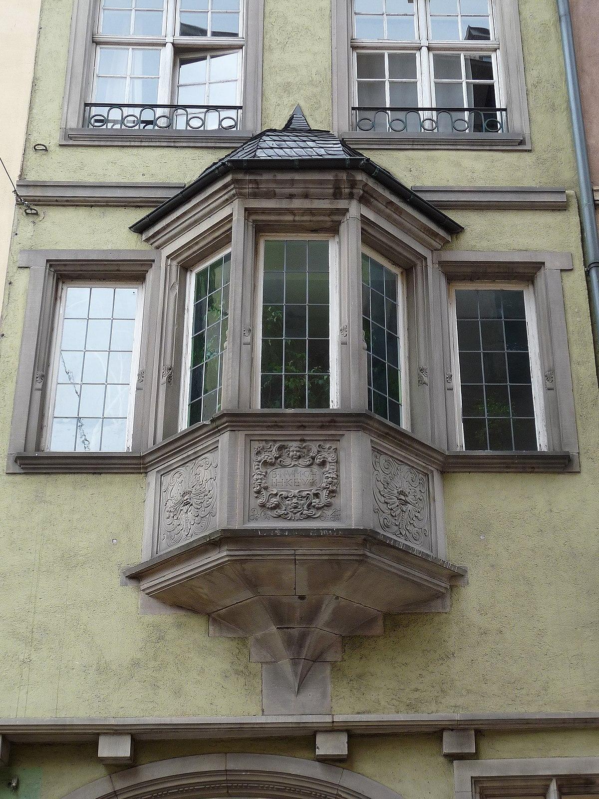 Maison au 5 rue des hallebardes strasbourg wikip dia for Maison avec bow window