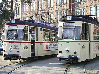 Trams in Naumburg (Saale) tram system