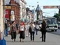 Street Scene in Tomsk - Russia.JPG