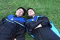 Students of National Taiwan University in academic dress 20100729.jpg