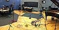 Studio 80B rigged for The Bad Plus, BBC Radio 3 In Tune, 2012-10-23.jpg
