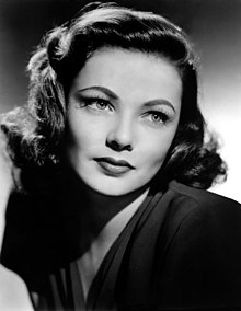 Movie Stars Have Their Uses Medical >> Gene Tierney Wikipedia