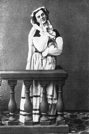 Timofei Stukolkin - Timofei Stukolkin as Marceline  in La fille mal gardée