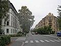 Suhms gate sett fra krysset med Schultz gate.jpg