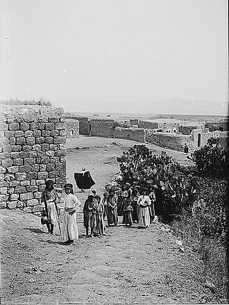 Sulam - The village of Sulam, pre-1914.