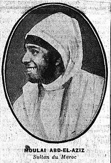 Abdelaziz of Morocco Sultan of Morocco
