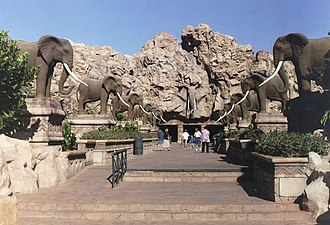 North West (South African province) - The Bridge of Time facing the Entertainment Centre