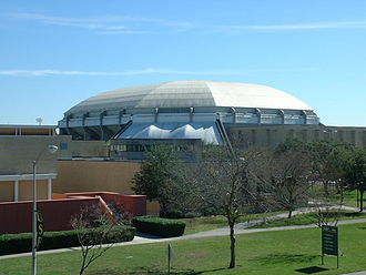 South Florida Bulls - The USF Sun Dome, where many sporting and entertainment events are held.
