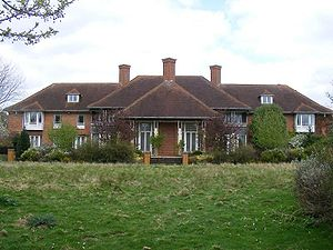 Sunninghill Park - Rear view of Sunninghill house