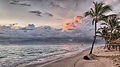 Sunrise on the beach at the Gran Bahia Principe resort, Dominican Republic.jpg