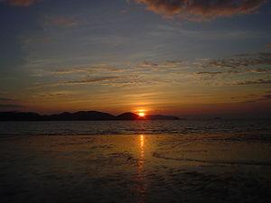 Sunset on Ko Mak.JPG