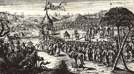 February 1: Surrender of the Dutch Fort Zeelandia. Surrender of Zeelandia.jpg